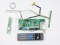 R.RT6251 TV+VGA+AV+AUDIO LCD Controller Board Driver Board Kit with Remote Controller