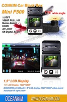 Car DVR Video Recorder F500LHD With Ambarella + Full HD 1080P 30FPS + H.264 + 120 Degrees