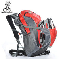 Mountainpeak bicycle bag double-shoulder ride backpack men breathable mountain bike backpack women rain cover sports backpack