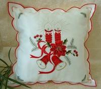 "Pillows Decorate Cojines New Home Decorative Sofa Cushion Cover Throw Case 18 ""silk Linen Festive Christmas Decorbox # Bzt-0020"