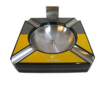 COHIBA Habanos Cigar Cigarette Ashtray with Free Cutter Gift Box set 4 Cigar