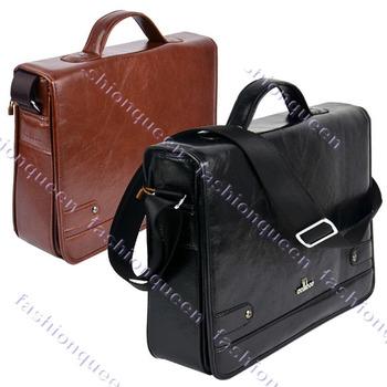 Hot Sell! Men's Synthetic Leather Shoulder Messenger Bags Briefcase for men Business Bag Handbag High Quality 9389