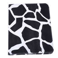 NEW Cow Print Leather Magnetic Smart Stand  Case Stand for iPad 2 3 4 free shipping