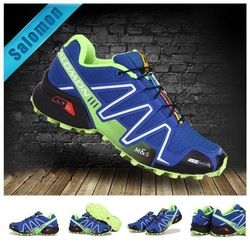Free Shipping New Arrived Salomon Shoes Men Athletic Shoes Running shoes Free Shipping(China (Mainland))