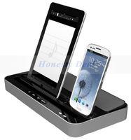 Multifunction speaker  & desktop charger For samsung GALAXY S II 2 S III 4 note II 3 Apple iPhone 5S 5 4 4s for iPad 2 3 4 mini