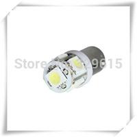 10pcs BA9S Car LED Light 5050 5 smd 5 Leds DC 12V White Car Wedge Side Interior Bulbs Reading Light Car Door Light
