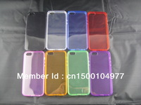 Special offer,   case for iphone5,Translucent, 8 colors, simple, generous. Crystal Series ,Cheap  , Free International