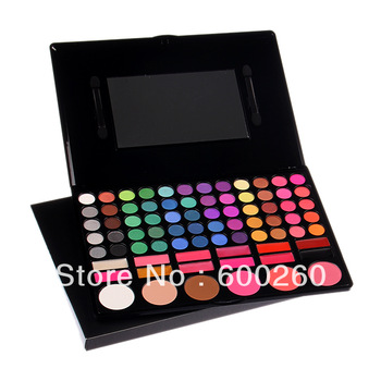 78 Color Eyeshadow Makeup Eye Shadow Powder Makeup Palette Free Shipping#3101