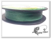 new 2014 Wholesale - 300yards-250m 10LB15LB20LB30LB40LB50LB moss green braided fishing line dyneema free shipping