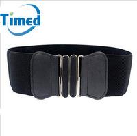 New arrival simple women's elastic waist belt with the trend of fashion all-match cummerbund decoration sweater belt 2824