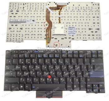 NEW pirnt RU layout RU Russian Keyboard for IBM ThinkPad T410 T410I T400S X220 X220I T420 SERIES black laptop keyboard