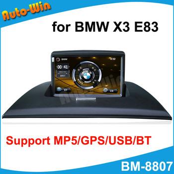 Car GPS Player for BMW X3 E83 with GPS MP5 USB Bluetooth keep orginal CD raido & wires will not destroy orginal cables