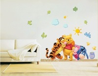 cute cartoon supernova sale animal home decoration diy wall stickers for kids room love bathroom mirror vinyl wall art decals