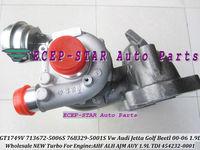 GT1749V 713672-5006S 768329-5001S 454232-0001 713672 Turbo Turbocharger For AUDI VW Jetta Golf Beetl Engine AHF ALH AUY 1.9LTDI