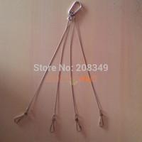 Wire Hook For Led Grow Light Led Aquarium Light Plant Lamp Tank Light Hanging kit Hanger 5pcs/lot,1Pc could be hung 75LBS 34KG