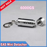 6000gs Strong Bullet Detacher magnetic detacher EAS Tag Remover for stoplocks