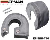 EPMAN T3 turbo blanket (Glass fiber) fit: t2,t25,t28,gt30,t35,and most t3 turbine housing turbo charger EP-TBB-T3G