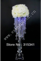 Free shipment OUGE-0015/ 10pcs/lots/ crystal wedding centerpiece/table centerpiece/73cm tall