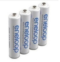 4pieces Lot, brand new SAN YO,Ni-Mh rechargeable AAA batteries, 1.2V, 800mAh long life