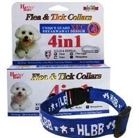 4-Month Effective Anti Fleas & Ticks& Mosquitoes Collar Elimination Nylon Neck Strap for Dogs Pets Puppies (Without Packing)