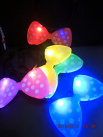 Free shipping 20pcs/lot LED fleshing  Minnie butterfly headband for parties 5color