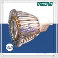 Retail 2pcs MR11 GU5.3 GU4 3W High power 1x3W Epistar LED Spotlight Bulb DC 12V Warm Cold White