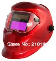LI Battery solar Auto darkening welding helmet/face mask/Electric welding mask/welder cap for welding machine and plasma cutter