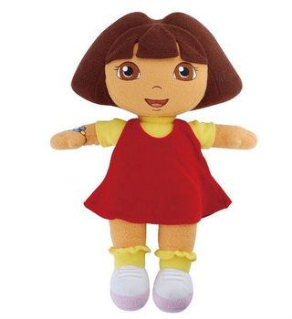 "12"" DORA THE EXPLORER Kids Girls Soft Cuddly Stuffed Plush Toy Doll New ZC-553"