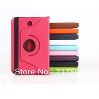 360 degree rotating Smart case For Samsung Galaxy Note 8.0 N5100 for Samsung galaxy tab 3 10.1 P5200 for Google nexus 7 2nd