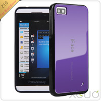 Free shipping New arrival Hot sale Korea style candy colour iface TPU cover for blackberry z10 case Wholesale