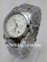 Special offer 30 meters waterproof the latest quartz watches do not repair the steel strap Men's / female watches mk5218