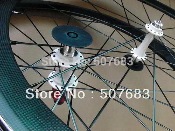 hot sale 3K clear finish bike wheelsets 60mm Toray full carbon fiber clincher 700C(China (Mainland))