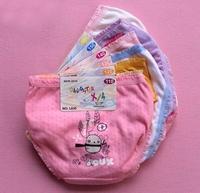wholesale 12PCS/LOT Free shipping children Fashion Underwear baby girls Cute Cartoon Panties kids Soft Cotton Briefs