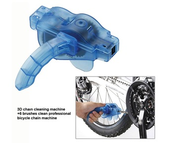 Bicycle Chain Cleaner Cycling Bike Machine Brushes Scrubber Wash Clean Tool Kit mountaineer bicycle chain cleaner [0002034]