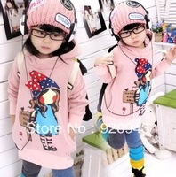 2013 spring girl clima fresh leisure cotton fabric color optional wholesale minus 5% sweater knitwear