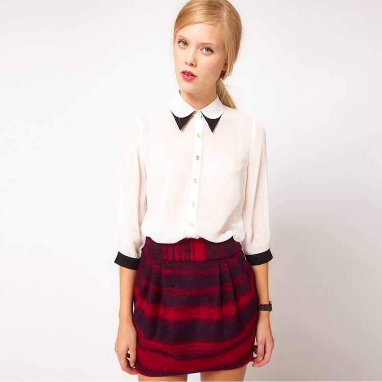 Модные Блузки Рубашки 2015 Доставка