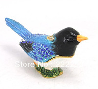 2013 New Design Decorative Metal Bird Style Jewelry Box For Retail&Wholesale C-N-002