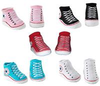 wholesale 12 pairs/lot baby socks outdoor shoes boys girls sock  new born infant socks  cotton socks 5colors