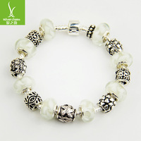 HOT SALE 925 Silver European Style Charm Chamilia DIY Bracelets For Gilrs Fashion Jewellery For Christmas Gift PA1235