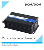 NEW!!1000w/peak power 2000w Solar inverter for home use/high frequency inverter(CP-P-1000W)
