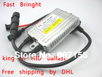 Shipping by DHL 2pcs a lot hid ballast DLT F5 55w king of ballast in China better ballast than any  xenon ballast