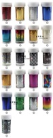 Free Shipping 2013 New 20bottles/lot Mix colors Nail Art Foil Transfer Stciker