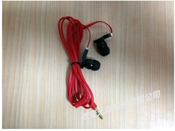 Free shipping new Cable 3.5MM In-ear earphone for mp3 mp4 headphone High quality(China (Mainland))