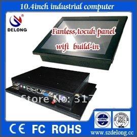 mini desktop pc all in one with fanless IP65 waterproof (Intel Atom N270 16G SSD)