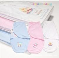 Wholesale 5Pcs/ Lot free shipping baby sleeping sack baby wrap sleeping bag swaddle 100% cotton