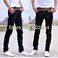 2013 new men clothing skinny men pencil pants male trousers male jeans 621