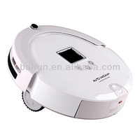 (Free to Brazil) Cheap White Robot Vacuum Auto Rechargeable 4 In 1 Multifunction Newest Style Free Shipping