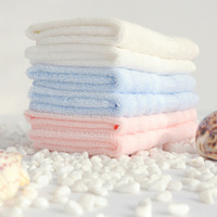 "Free shipping, (3 pieces/lot) ripple small towel, bamboo fiber towel 34x34cm(13""x13"")"