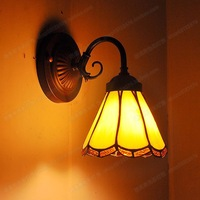Factory direct Continental Tiffany balcony lamps before the mirror retro small wall lamp bedroom bedside simple ornaments