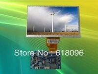 "2PCS/LOT 1ch AV-IN and 1ch VGA  5V 7 "" 480X800 resolution TFT LCD Model for Raspberry PI display"